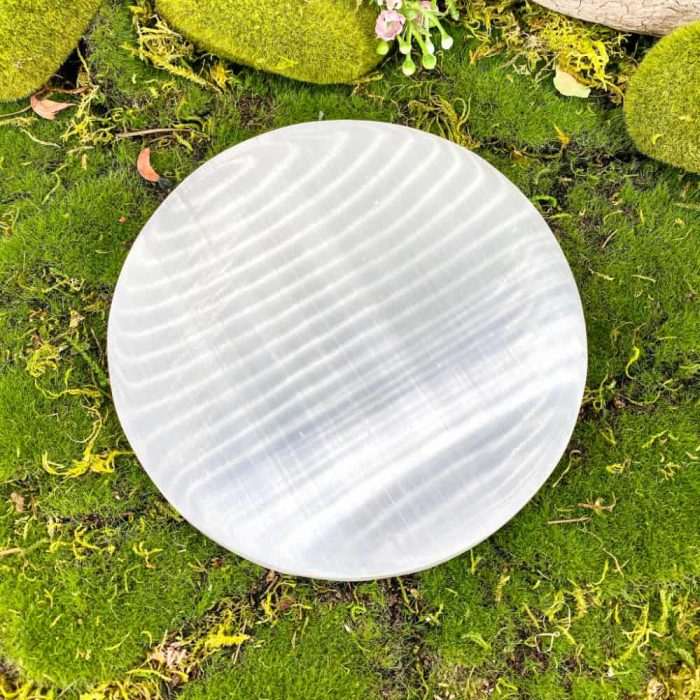 6″ Plain Selenite Charging Plate