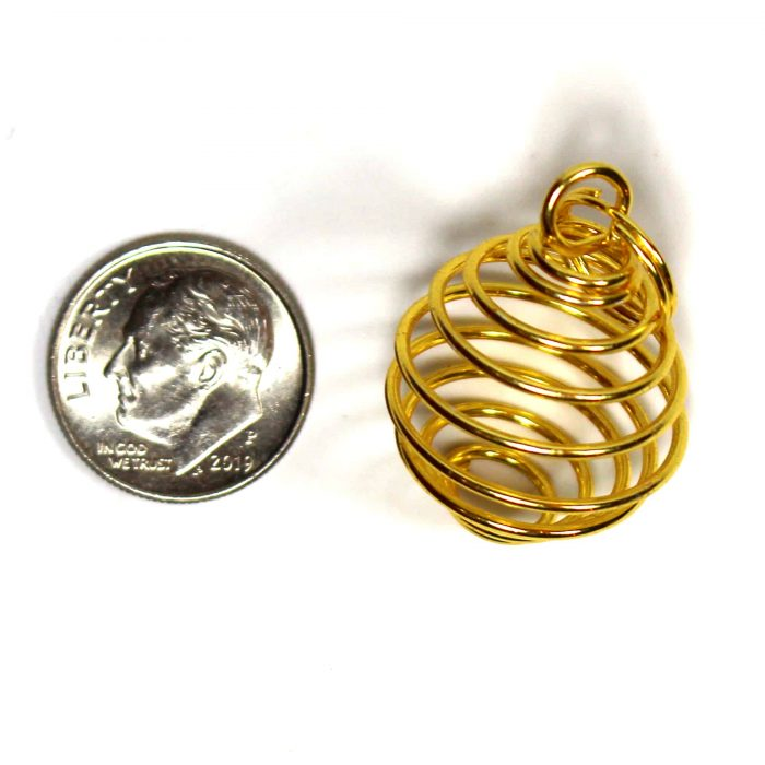 Small Spiral Cage Size Photo