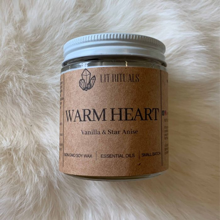 Warm Heart Soy Candle
